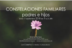 Constelaciones Familiares Emma Romeo Padres e Hijos Taller